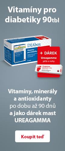 DIAbox - Vitamíny pro diabetiky a Ureagamma®