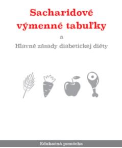 Sacharidové výměnné tabulky - brožura